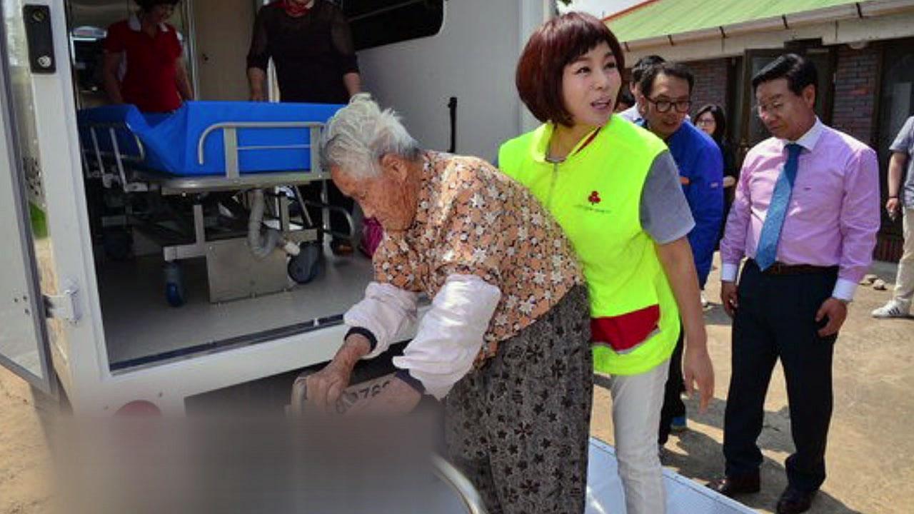 [좋은뉴스] '효녀 가수' 현숙 씨, 목욕용 차량 기증