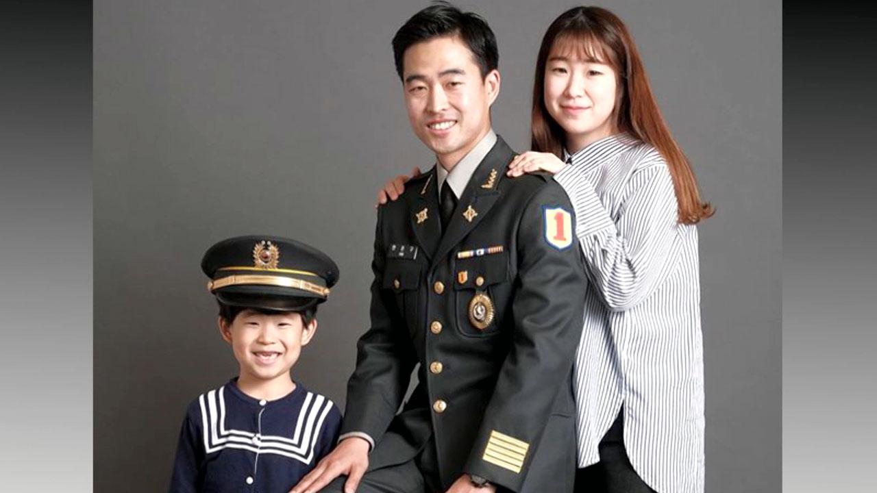 [좋은뉴스] 군인 가족 카메라에 담는 사진작가