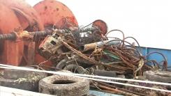 '움직이는 암초', 폐어구 유발 선박 사고 급증