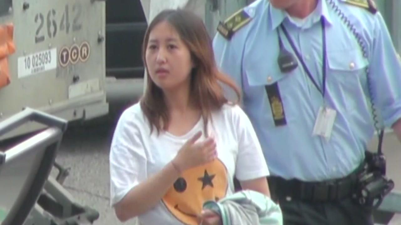 정유라, 245일 도피 생활 마감...철통 보안 속 한국행