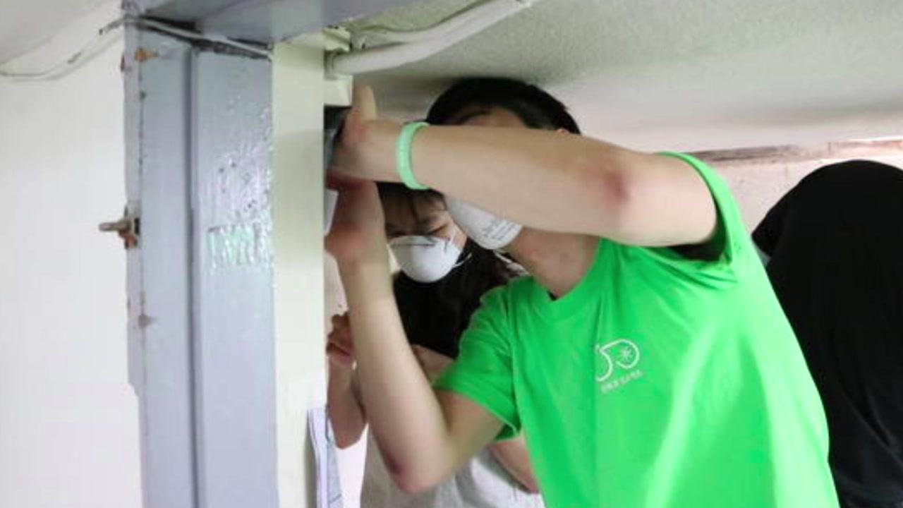 [좋은뉴스] 청소 노동자 휴게실 공사해준 대학생들