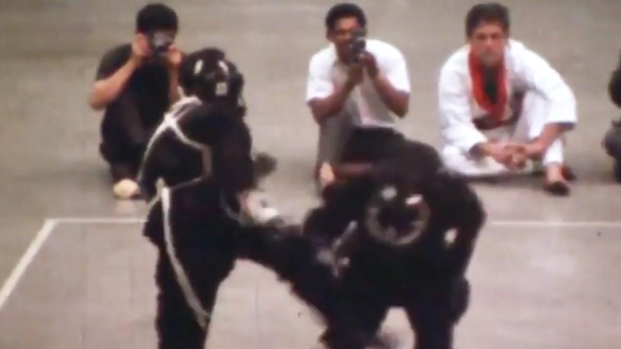 세상에 단 하나뿐인 이소룡의 '실제 격투' 영상
