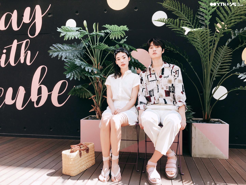 한예지-고웅호의 휴양지 커플룩 따라잡기!