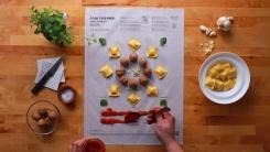 이케아에서 만든 획기적인 '종이 요리법'