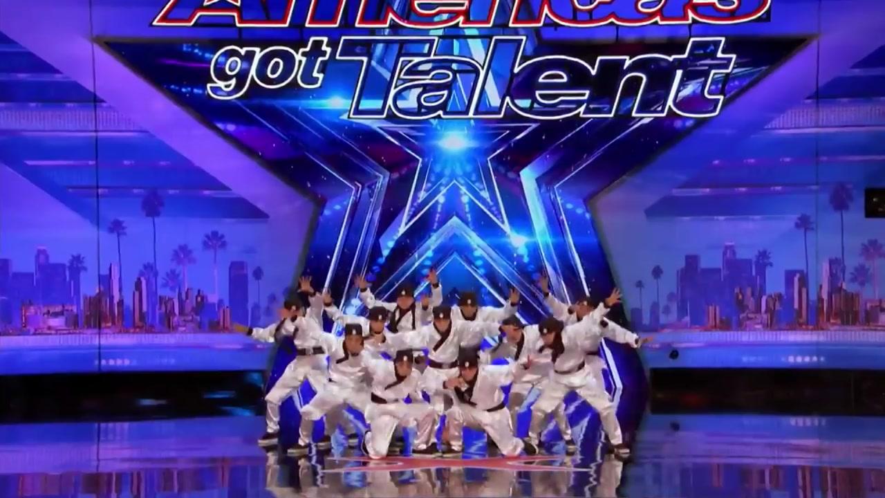 [영상] 미국 오디션 프로그램에 등장한 '한국 댄스팀'