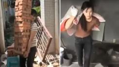 공사 현장에서 '막노동'하는 여성이 화제인 이유