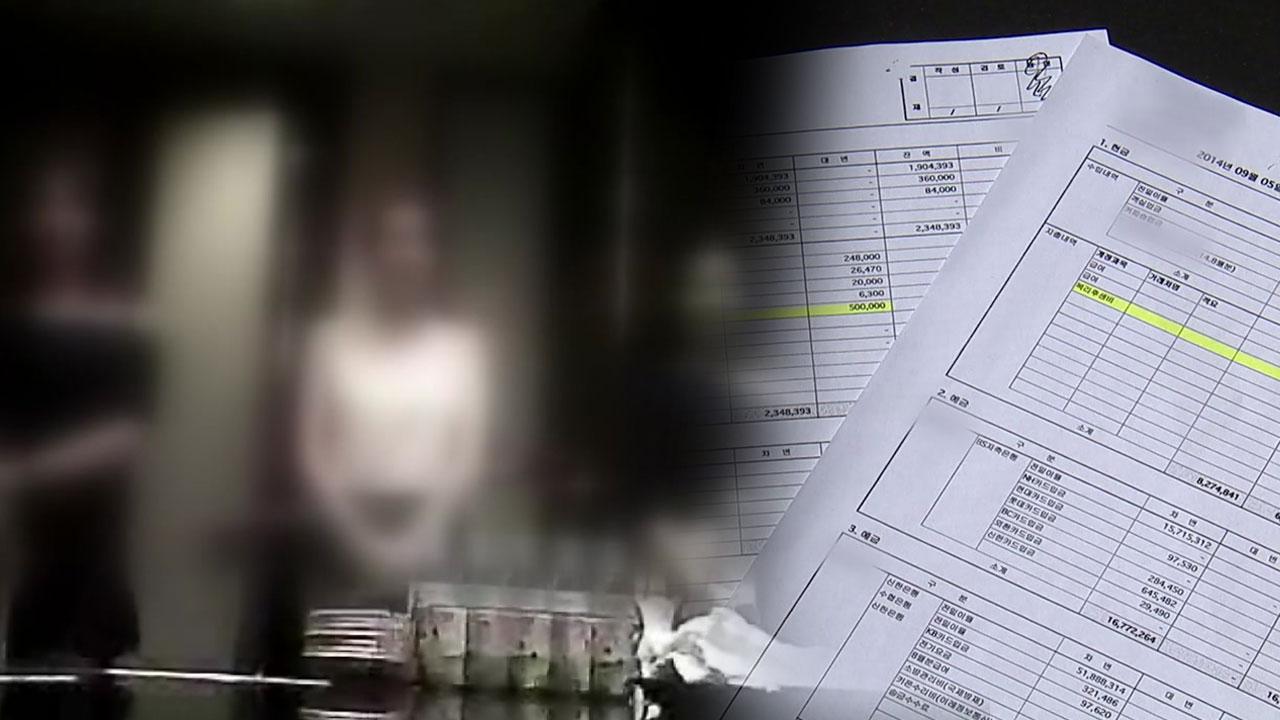 """[취재N팩트] """"경찰 상납했다""""...성매매 호텔 장부 입수"""