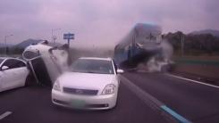 [취재N팩트] 경찰, 경부고속도로 사고 버스업체 수사 착수