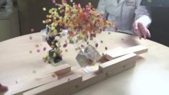 [지구촌생생영상] 자석 사이에 물건을 두면 어떤 일이?