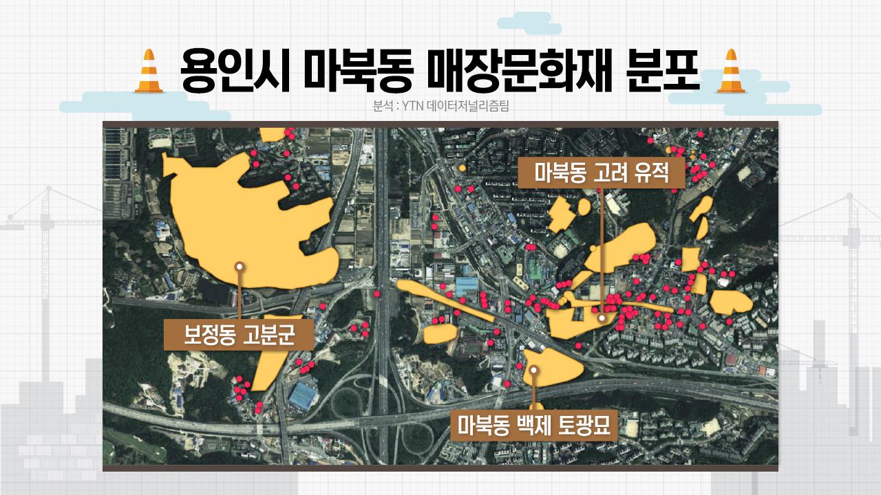 ①[매장문화재 데이터 분석] 소규모 난개발의 습격...매장문화재 SOS 지도