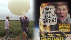 우주에서 책을 떨어뜨리면...괴짜 발명가의 홍보