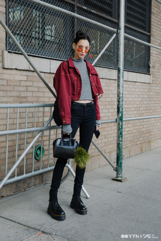 티아나 톨스토이, 뉴욕 스트리트 접수한 '모델 포스'