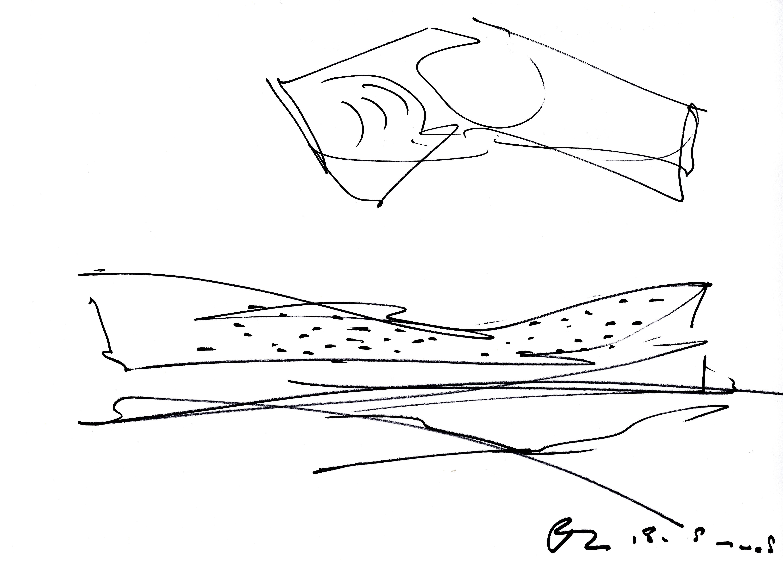 〔안정원의 디자인 칼럼〕 주변 환경과 바람의 조건을 반영한 실험적인 예술극장 디자인 2