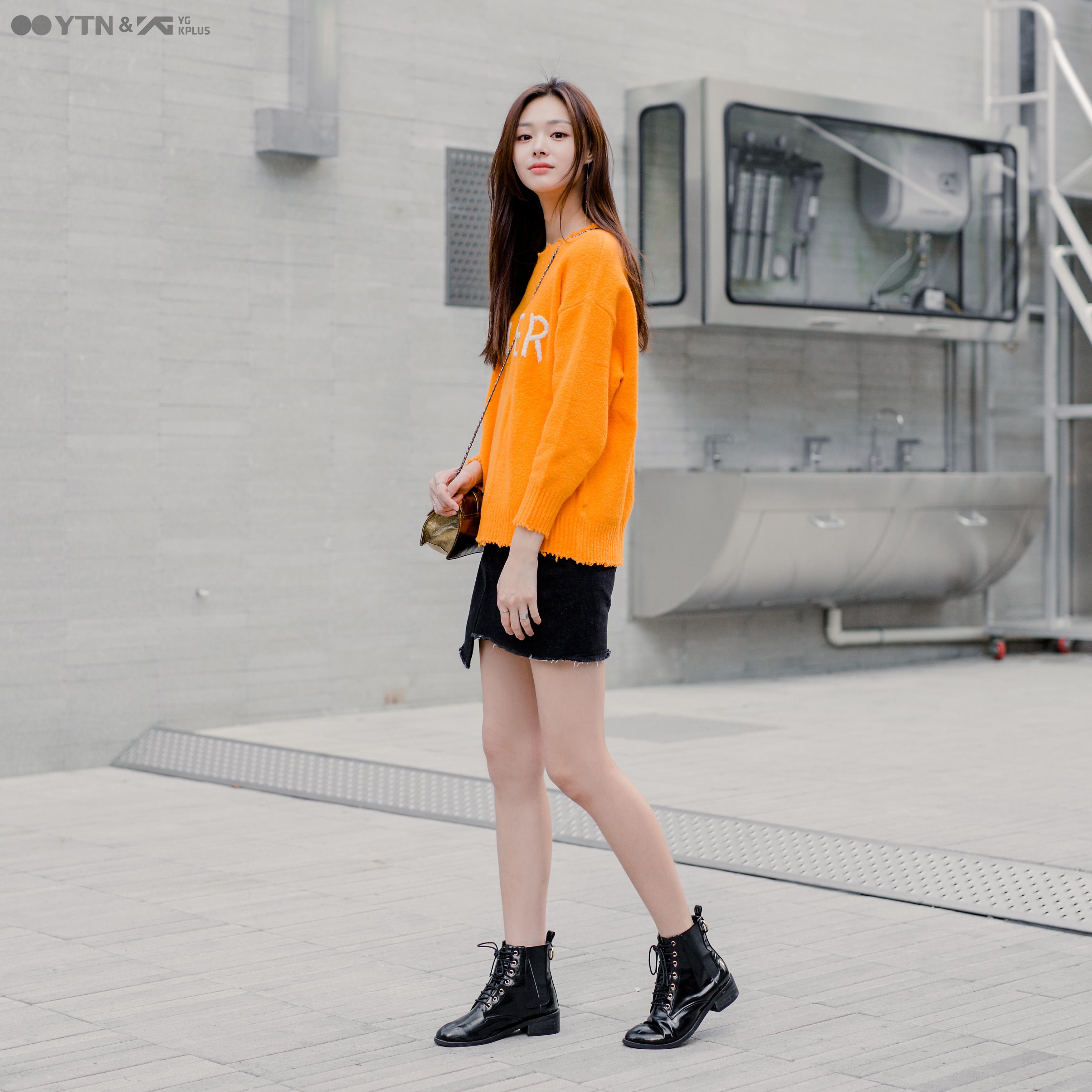 라이징 모델 최윤영의 러블리 룩 엿보기!