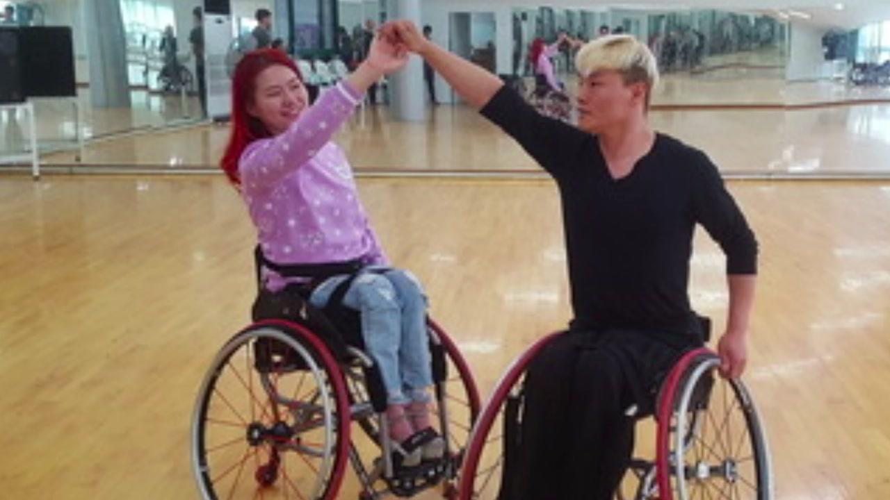 [좋은뉴스] 장애인과 비장애인이 하나되는 '댄스스포츠'
