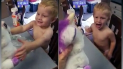 인형 좋아하던 아이가 3초만에 돌변한 이유