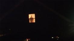 1년간 창문에서 이웃을 지켜보던 남성의 정체