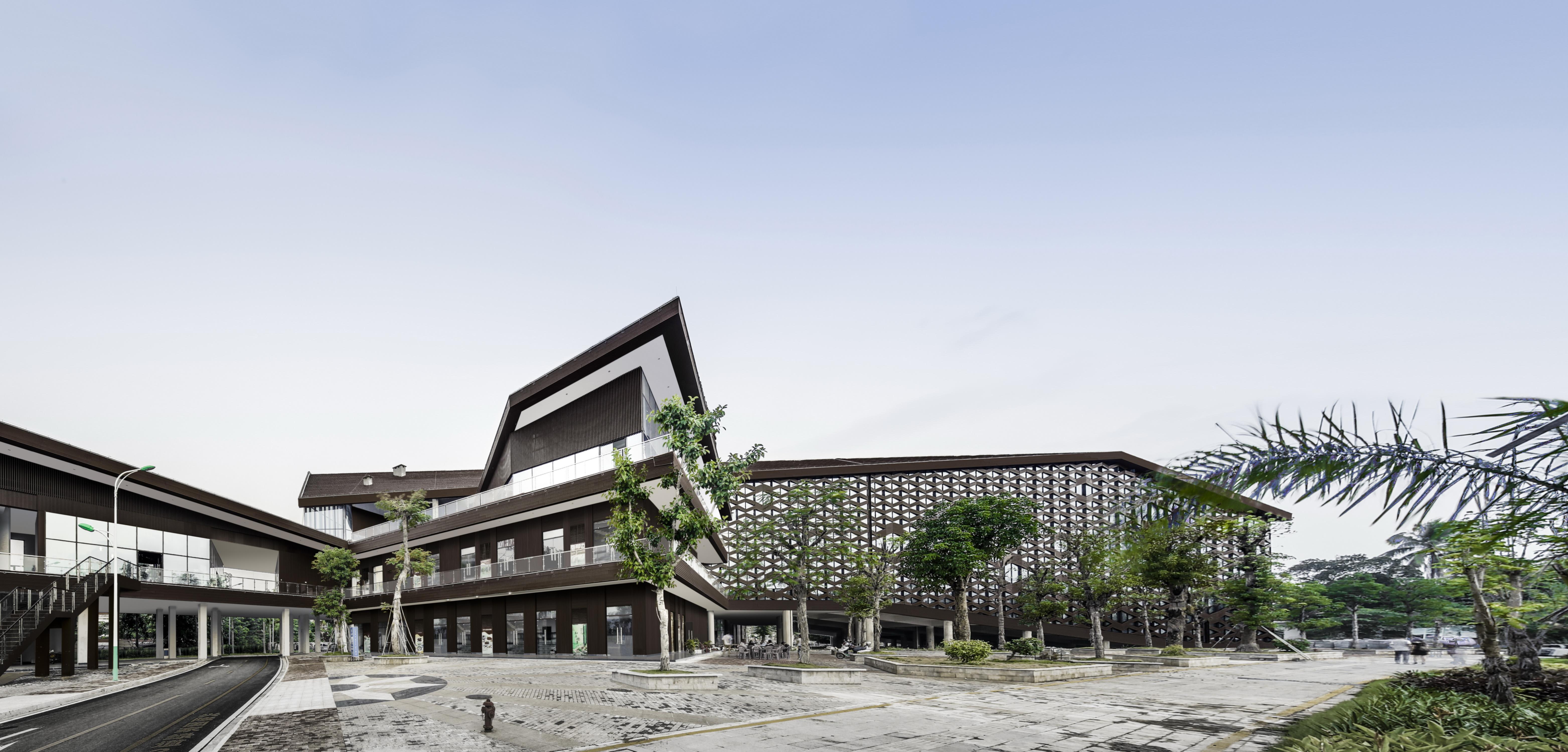 〔안정원의 디자인 칼럼〕 섬의 지역적 특색, 아열대 기후와 식생을 고려한 방문자센터 1
