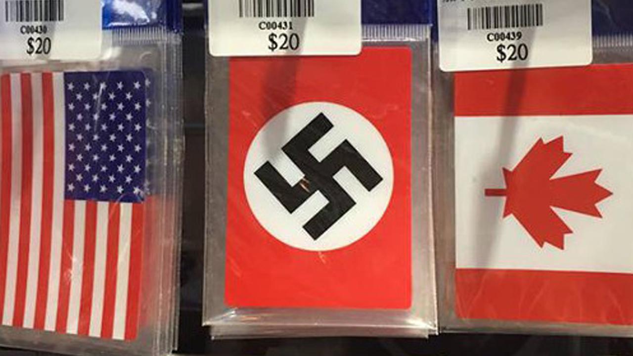 대만 상점에서 '나치, 욱일기 스티커' 판매돼 논란