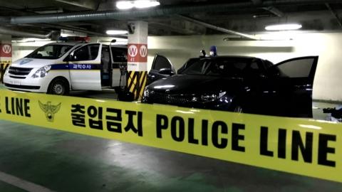 """윤송이 父 살해...피의자 """"주차시비로 범행"""""""