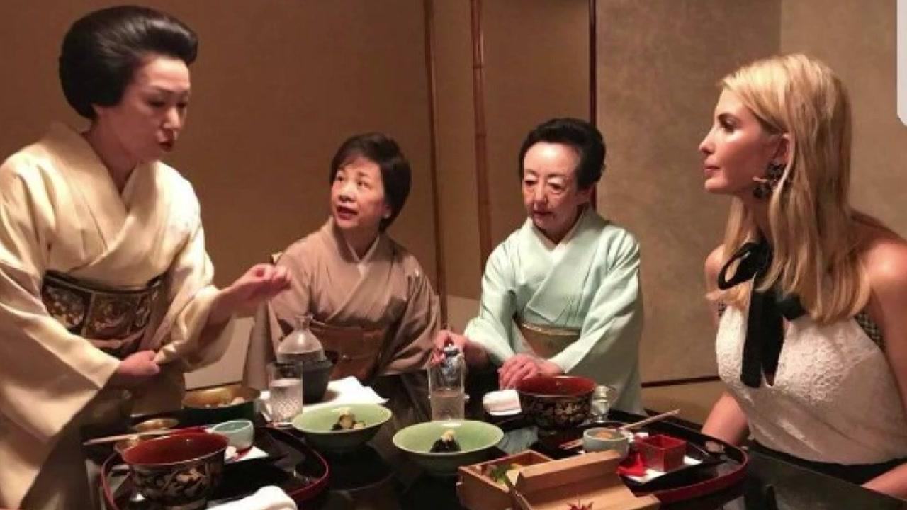 [취재N팩트] '트럼프 장녀' 이방카 일본 간 이유