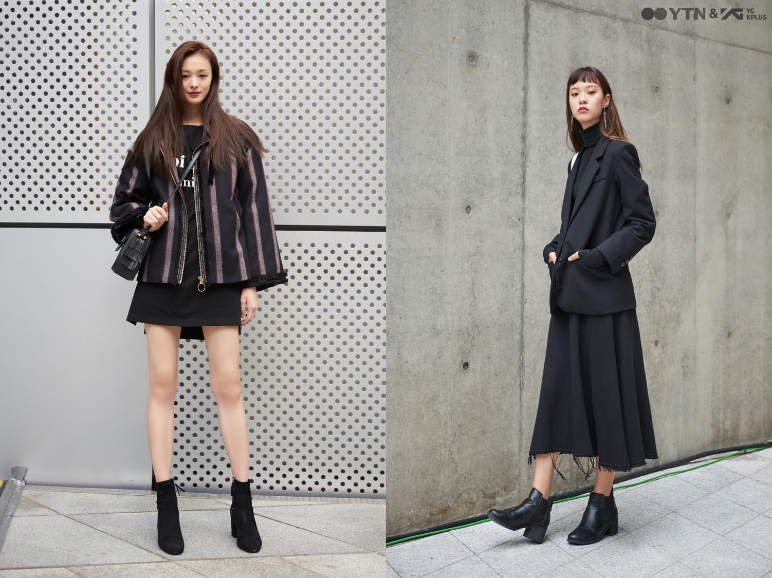 최윤영-조은서의 블랙 스타일링 '내 마음속에 저장'