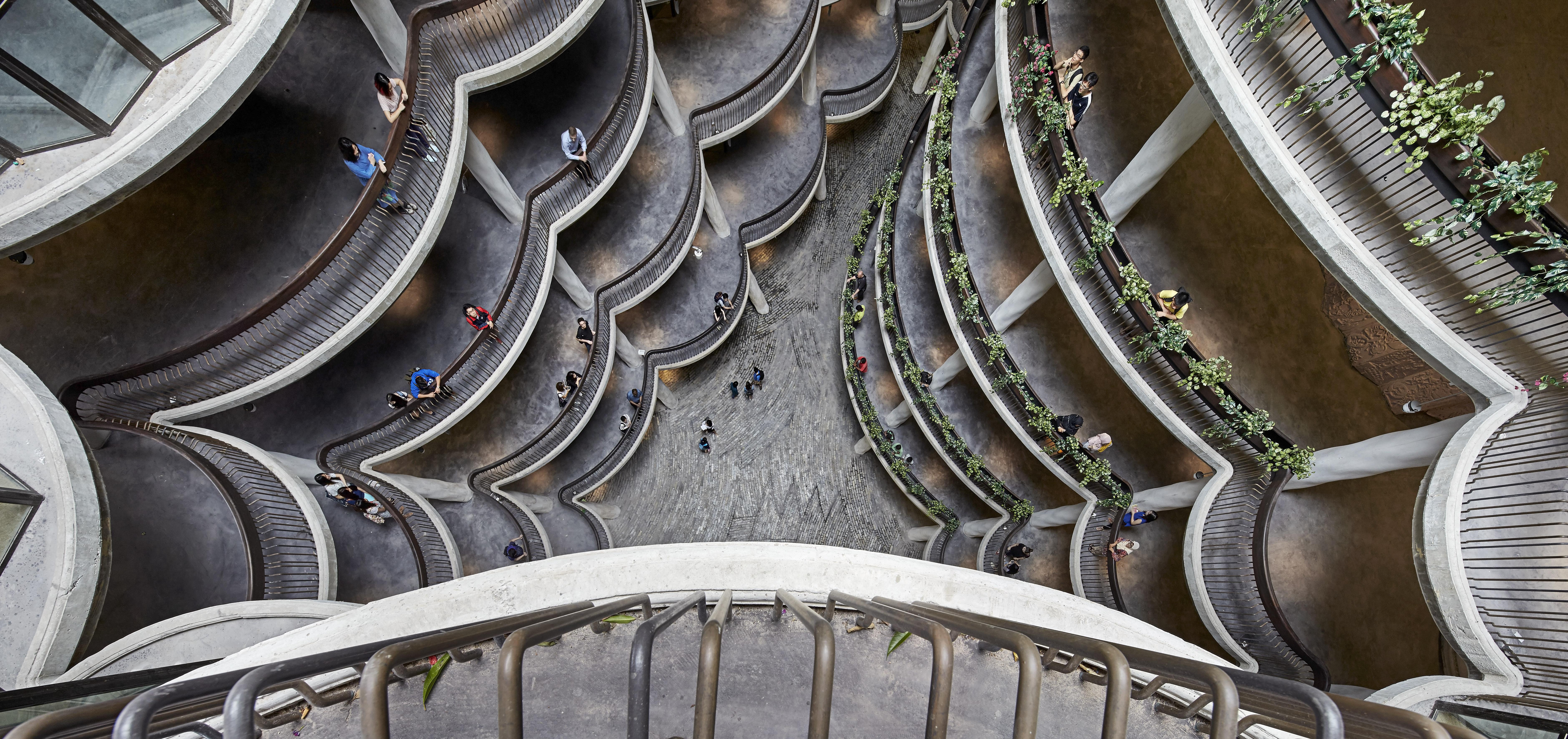 〔안정원의 건축 칼럼〕 열대기후에 적합한 맥락적인 건축, 신개념 교육환경 2
