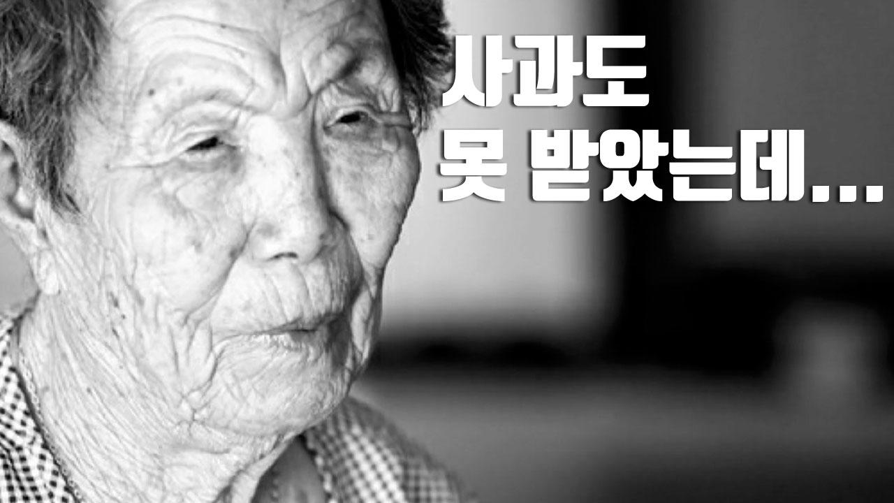 [자막뉴스] 사과도 못 받았는데...위안부 생존자 이제 33명