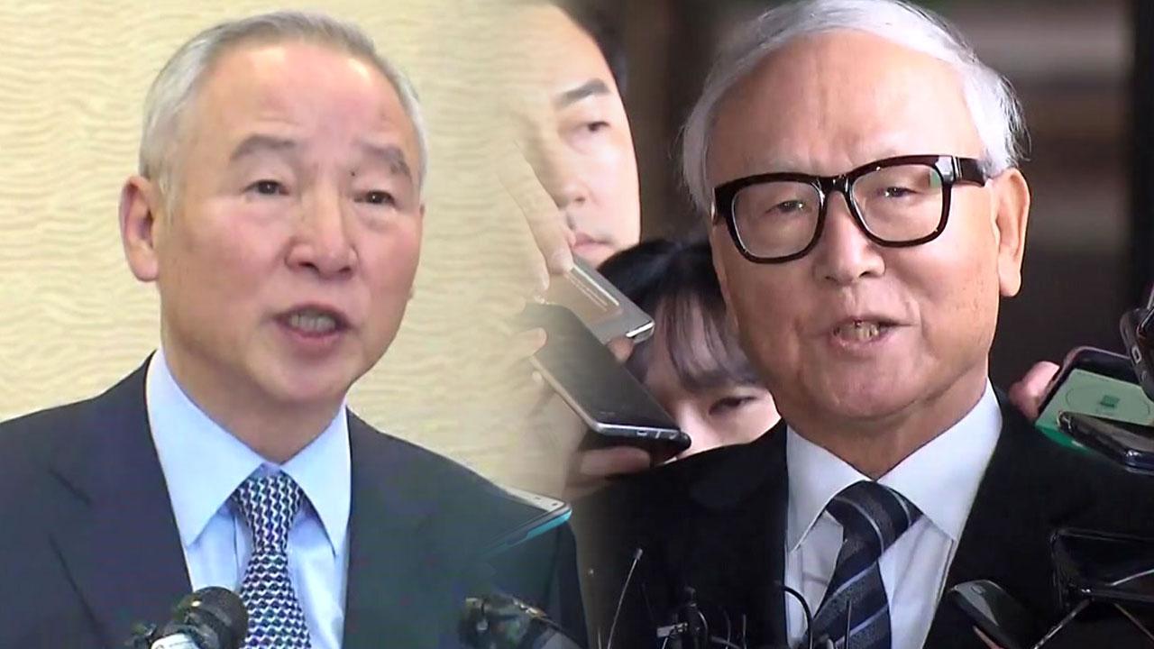 [속보] 검찰, 남재준·이병호 전 국정원장 구속영장 청구