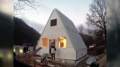 [지구촌생생영상] 한 채에 3,500만 원...6시간 만에 뚝딱 만드는 집