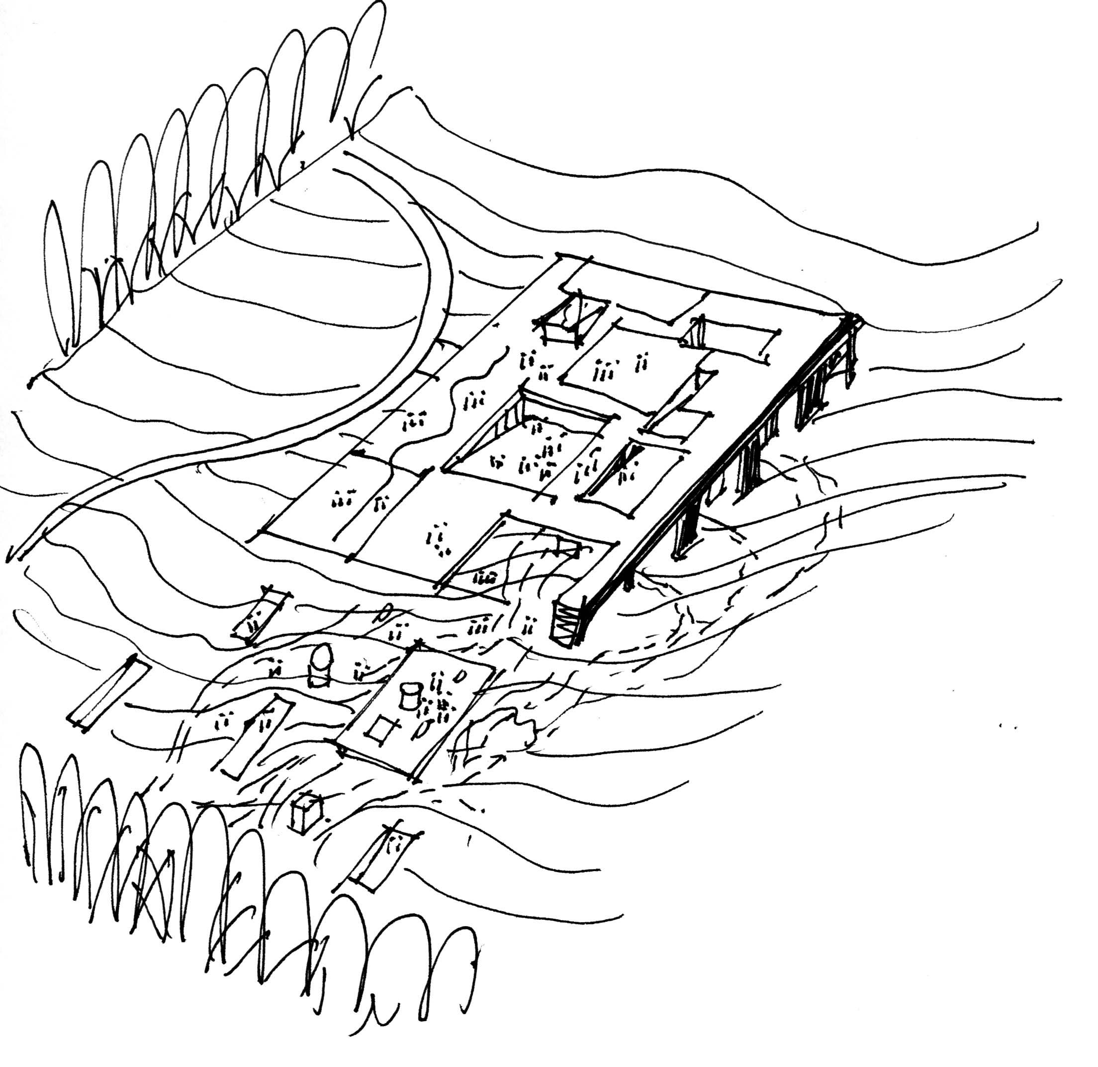 〔안정원의 건축 칼럼〕 자연 속에 건축을 숨기는 경사지붕의 특별한 건축방식 엿보기 3