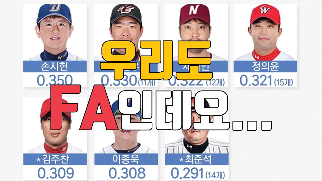[자막뉴스] 야구 FA 시장, 양극화 극심