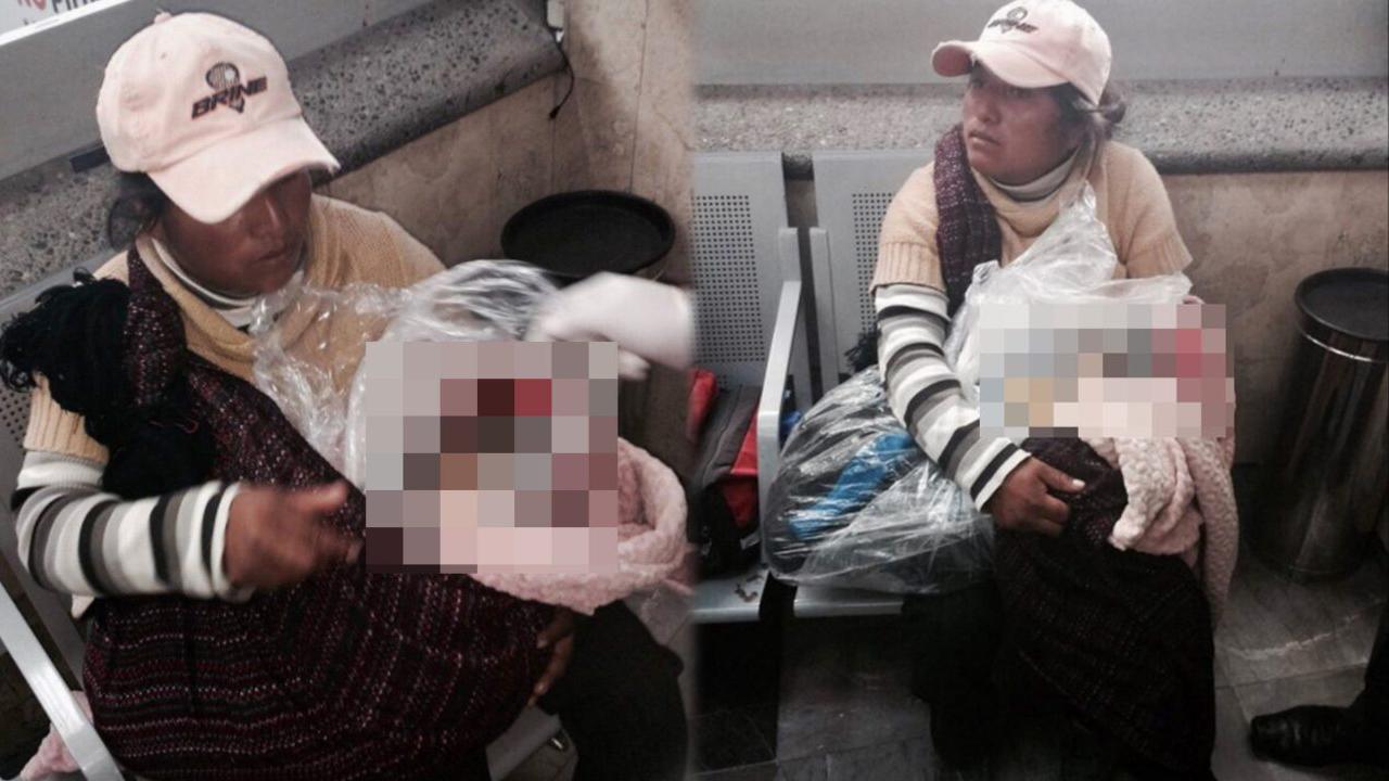 죽은 아이 사체 비닐봉지에 담아 버스에 오른 엄마의 사연