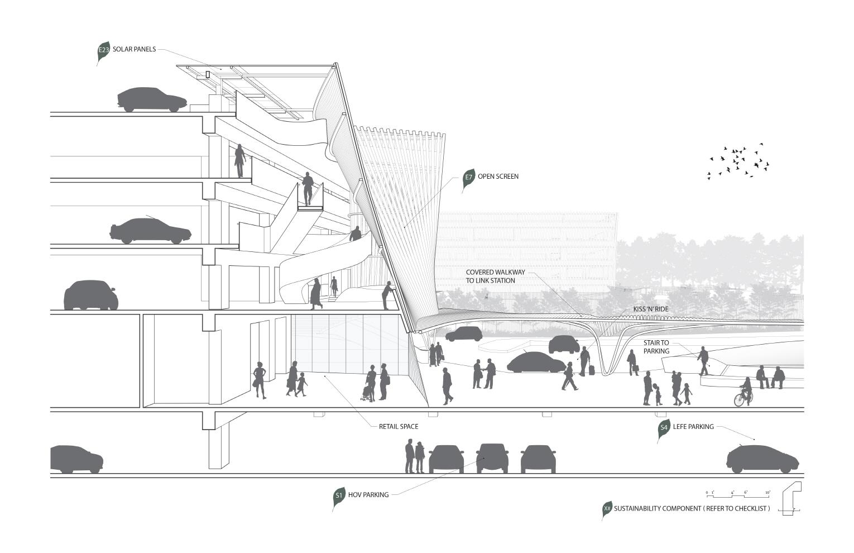 〔안정원의 건축 칼럼〕 안무가의 댄스 기하학에서 공간 라인을 매칭한 유기적인 디자인 2