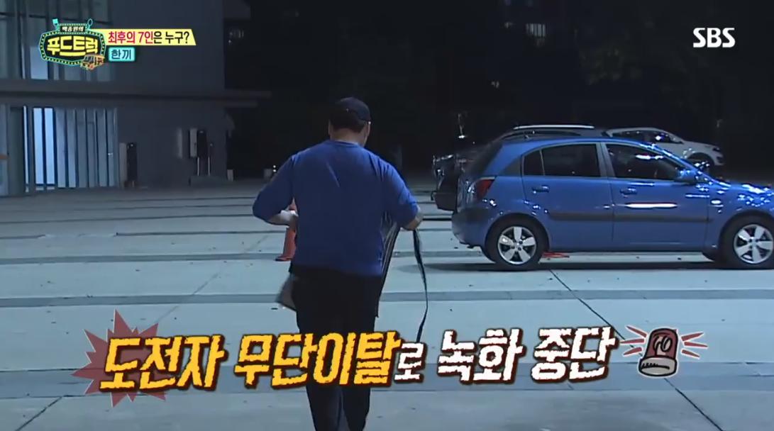 백종원 지적에 방송 녹화 중 '무단 이탈'한 푸드트럭 도전자