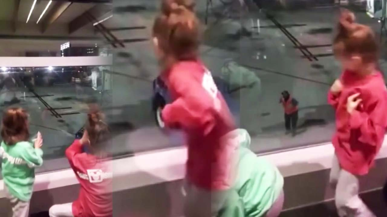 '이쯤 되면 인간 복사기'...꼬마들의 흥겨운 댄스