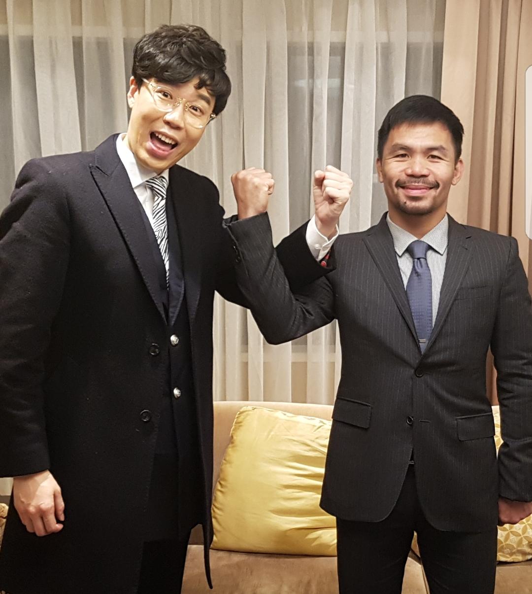 """추대엽 """"파퀴아오 같은 소속사 인연...MBC로고송도 전수"""""""