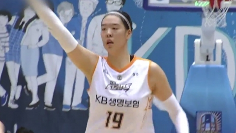 '박지수 20-20' 국민은행 선두 도약