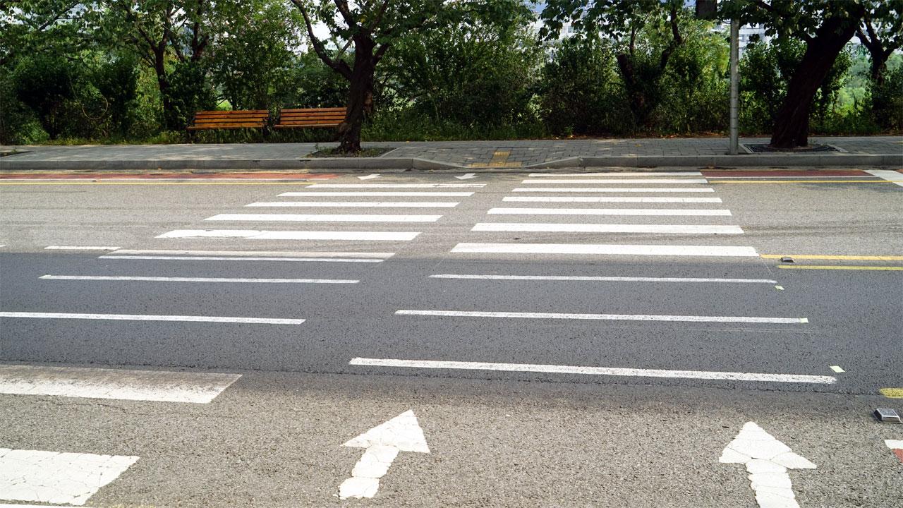 노인 보행자 교통사고 75%는 도로 건너다 발생