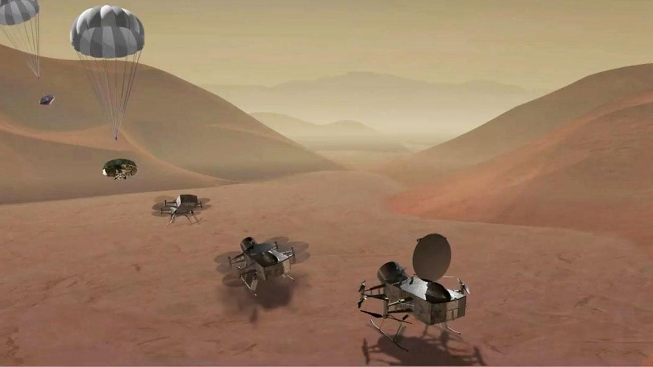 '토성에 드론'...외계 생명체 흔적 찾는다