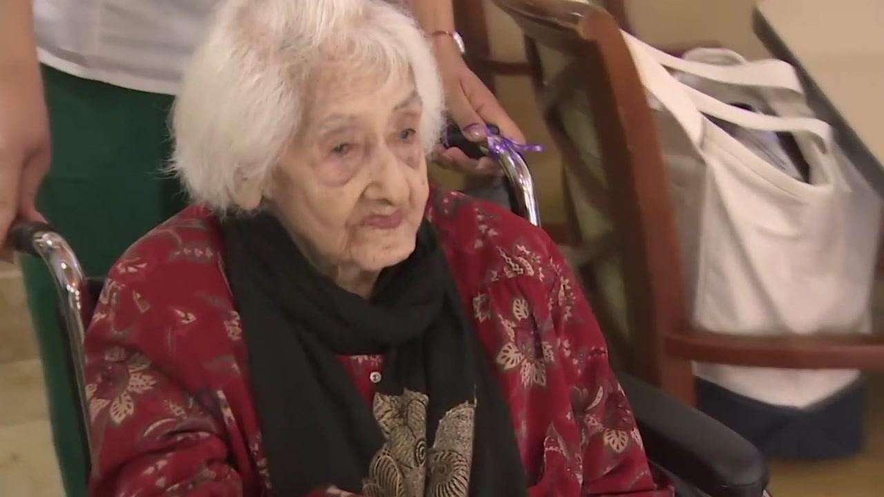 [영상] 미국 최장수 할머니의 112번째 생일