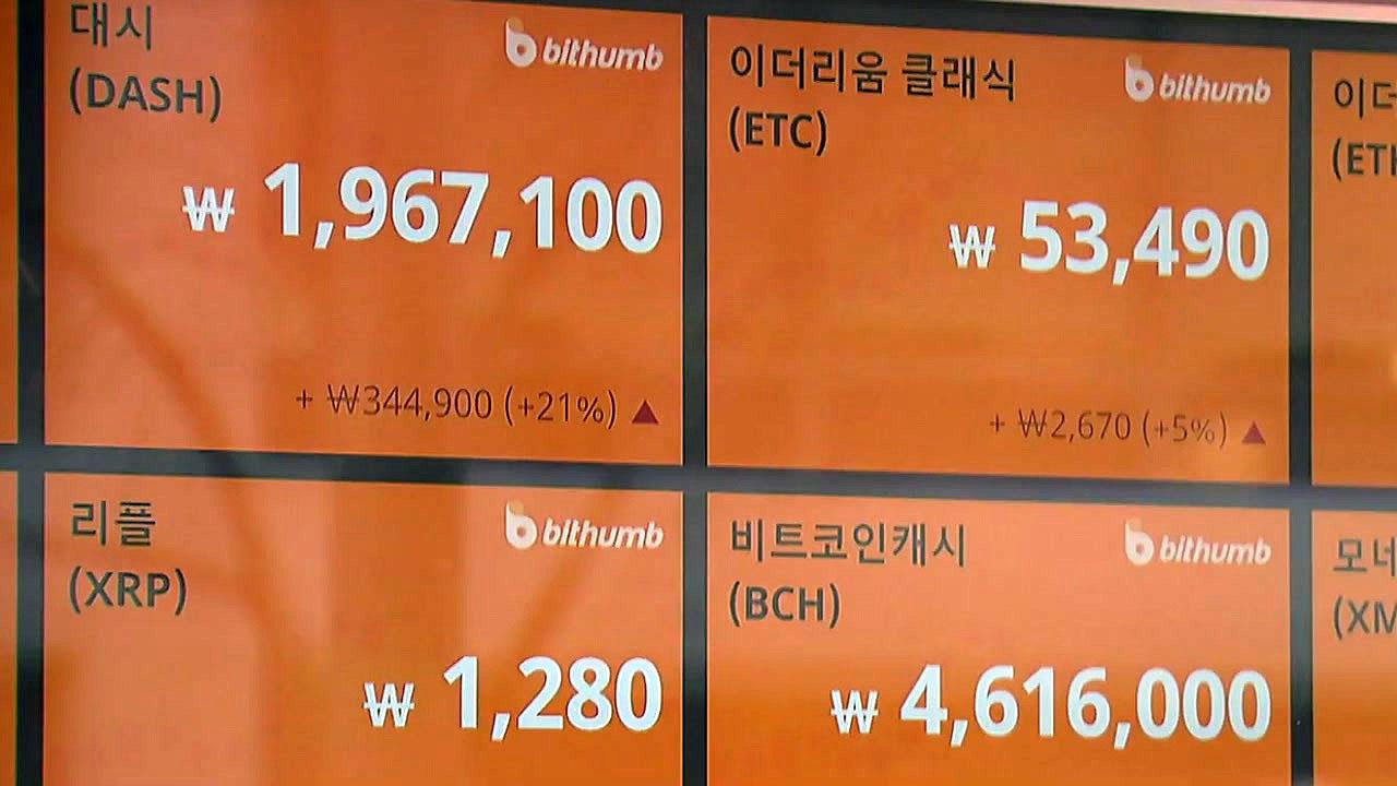 [YTN 실시간뉴스] 은행, 가상계좌 정리 움직임...가상화폐 시장 혼란