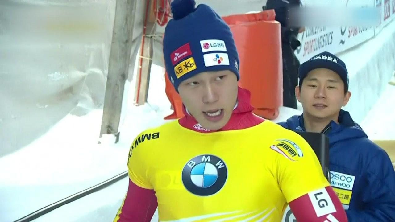 스켈레톤 윤성빈, 무결점 주행...7차 월드컵 금메달