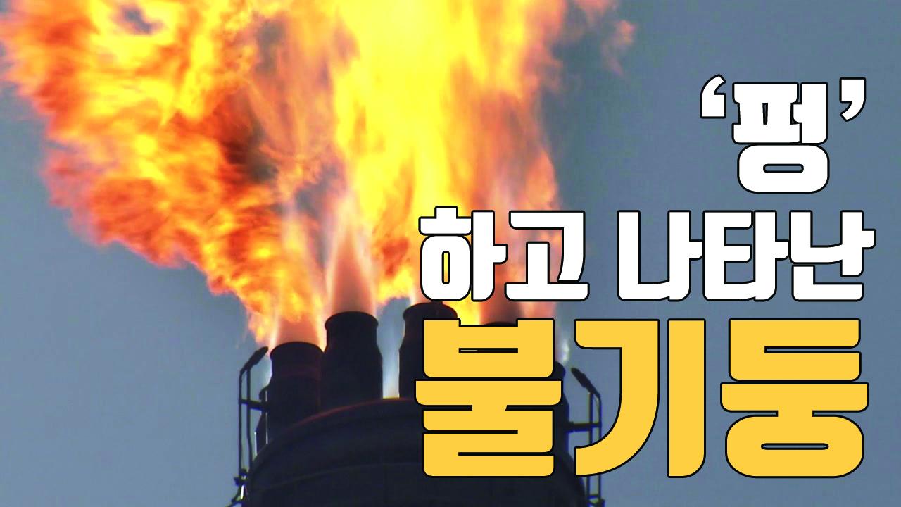 [자막뉴스] 울산 공장 불기둥 원인은 '한파'