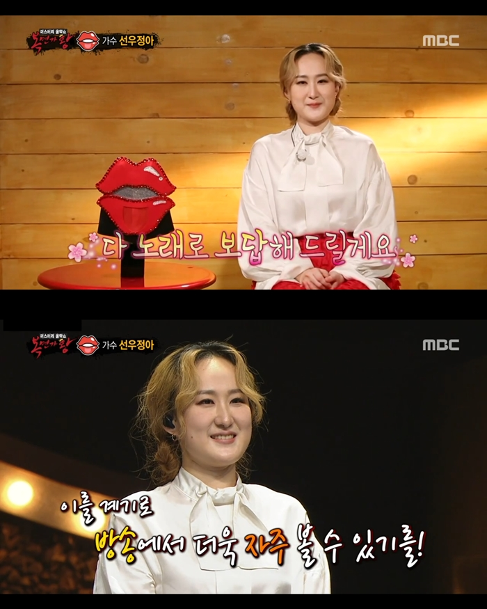 """'복면가왕' 선우정아 """"레드마우스, 행운 같은 전환점…감사했다"""""""