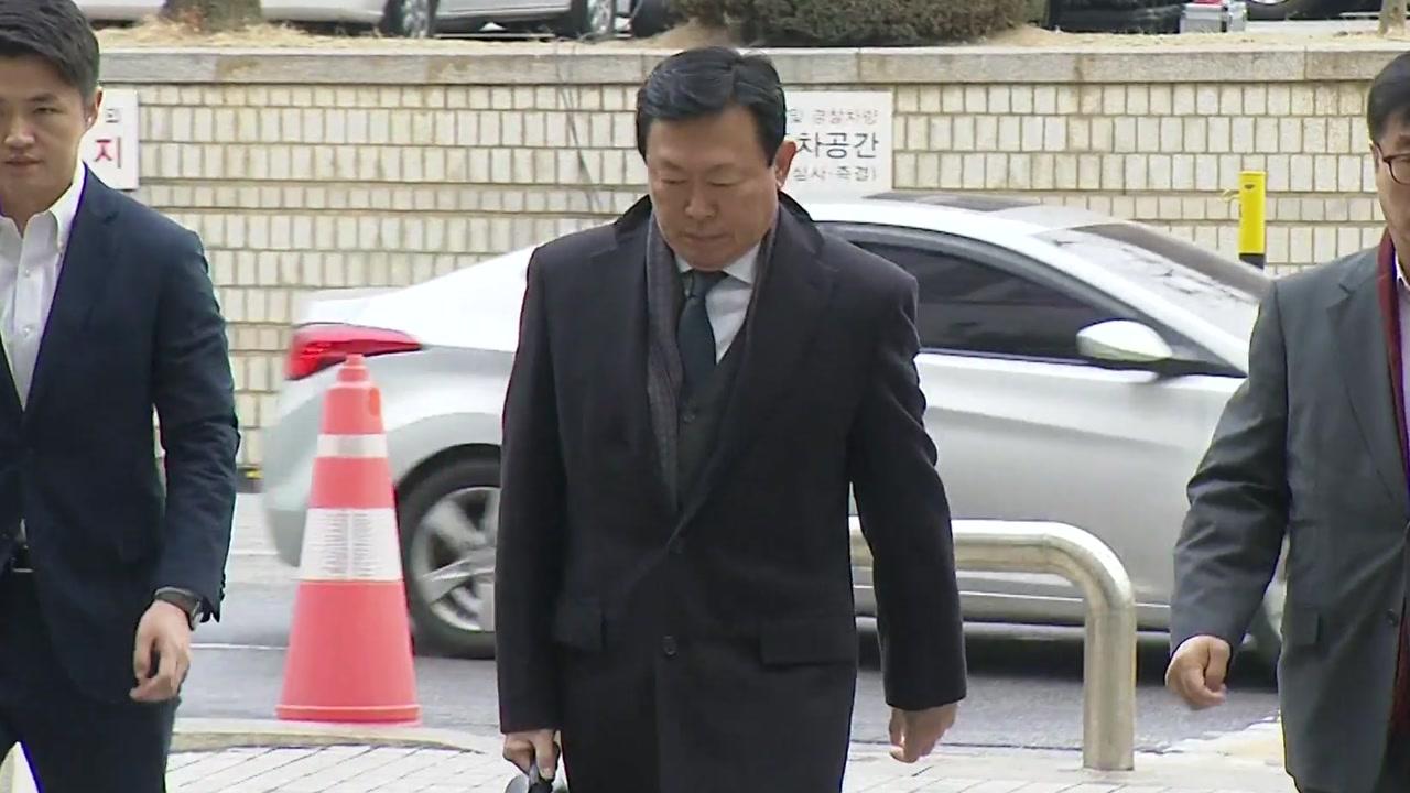 신동빈 회장 법정 구속...롯데, 첫 총수 부재 위기