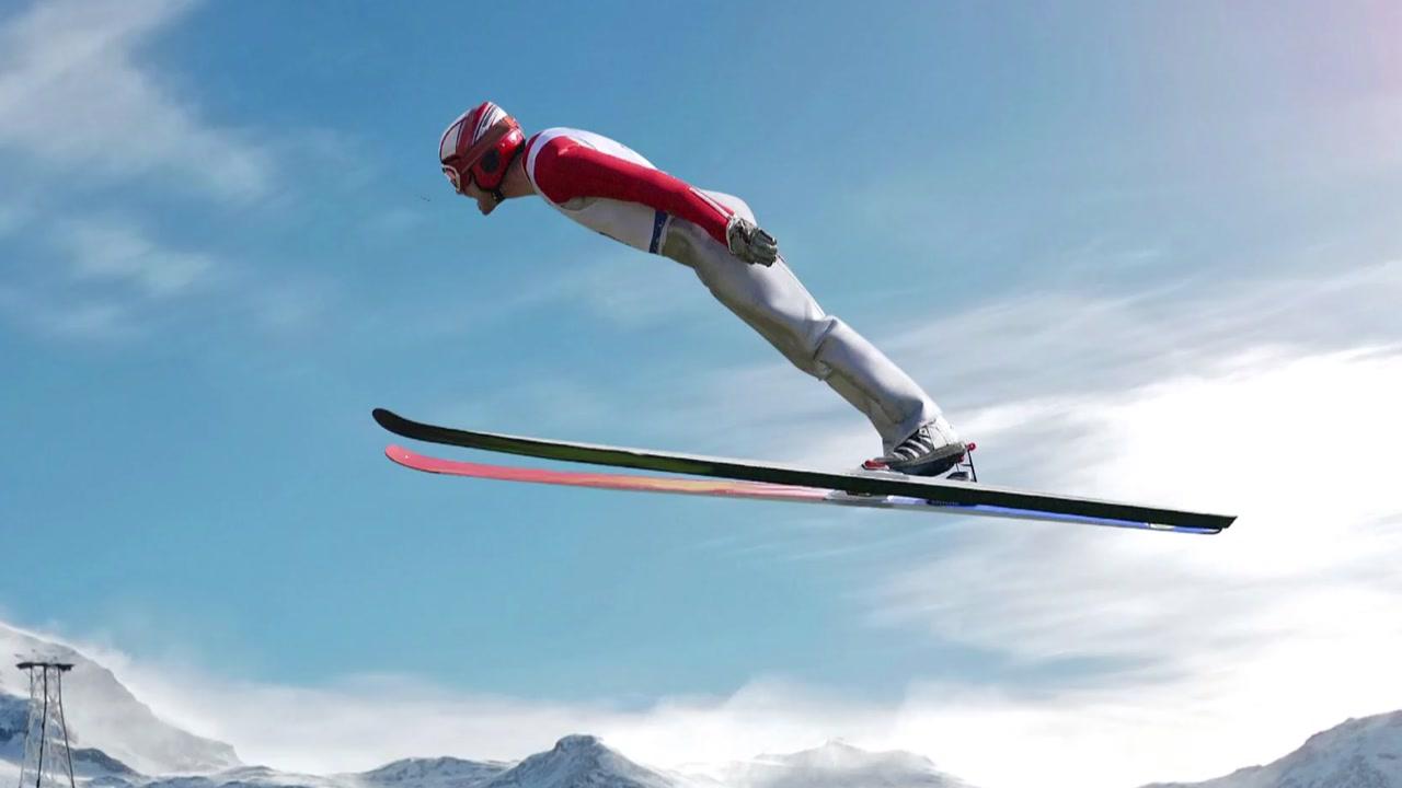 새처럼 훨훨 '스키 점프'...'V 자세'가 관건
