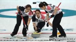 여자 컬링대표팀, 세계 최강 캐나다 격파
