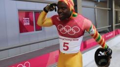 '아름다운 꼴찌' 가나 프림퐁, 환한 미소와 춤으로 올림픽 마무리