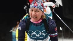 쿠즈미나, 女바이애슬론 3개 대회 연속 金